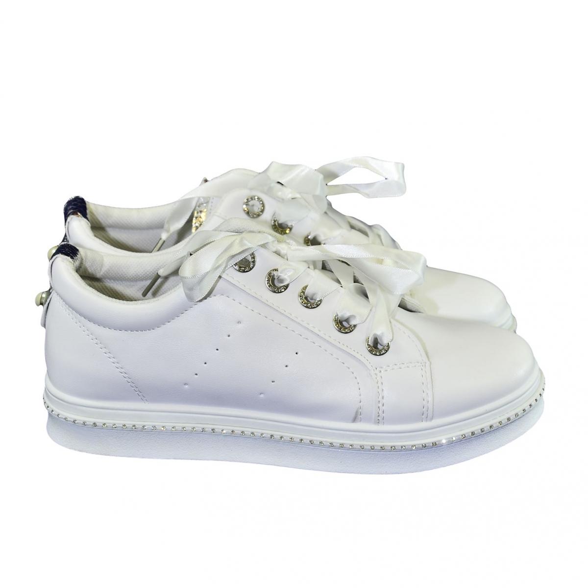 6fd12b654529 Dámske biele tenisky NIMERIA - 2