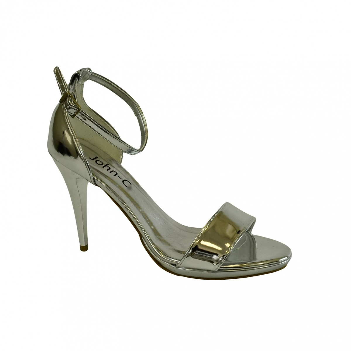 745410fa61f5 Dámske strieborné sandále ROSARIA - 4