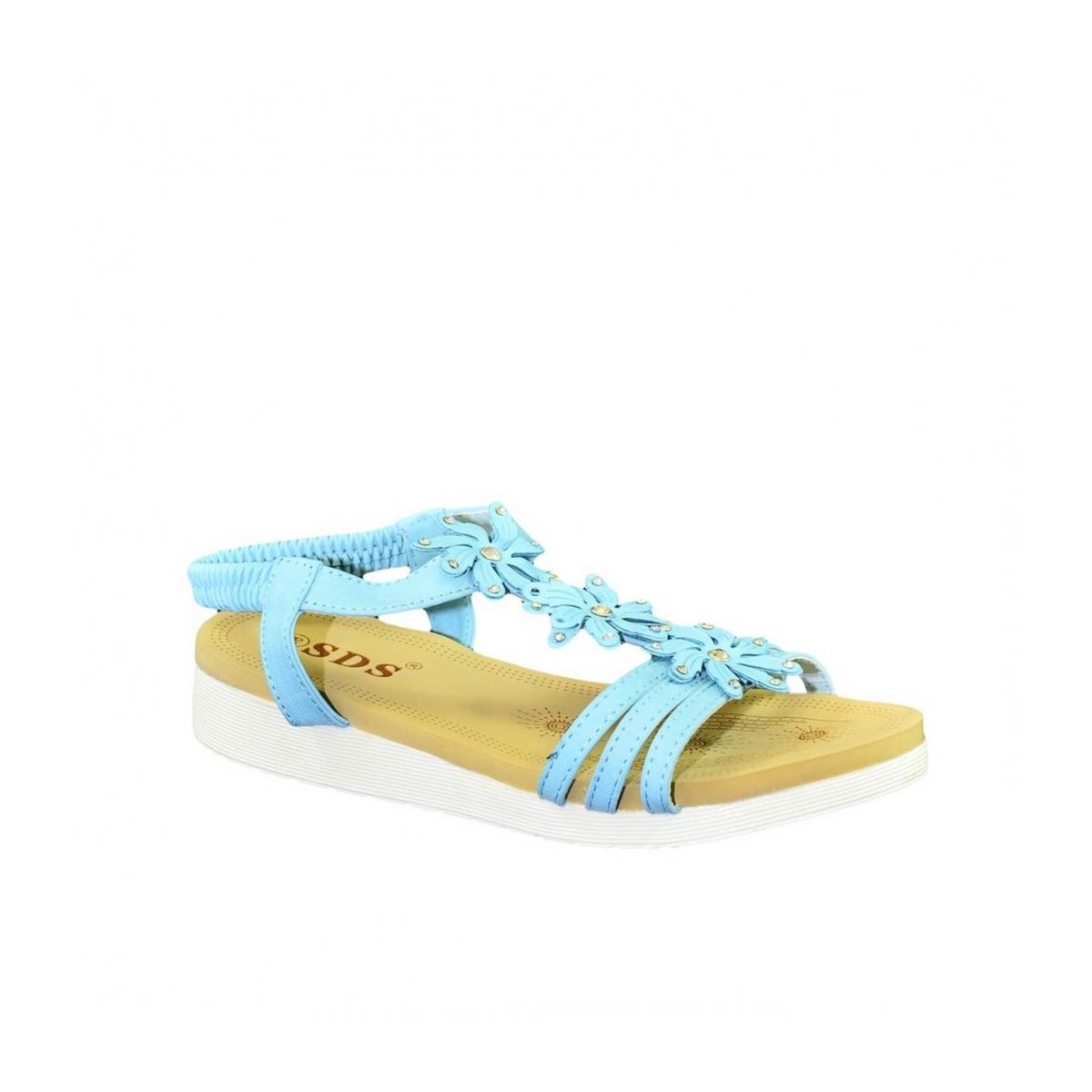 45432fb75de42 Dámske tyrkysové sandále TAMI - 2