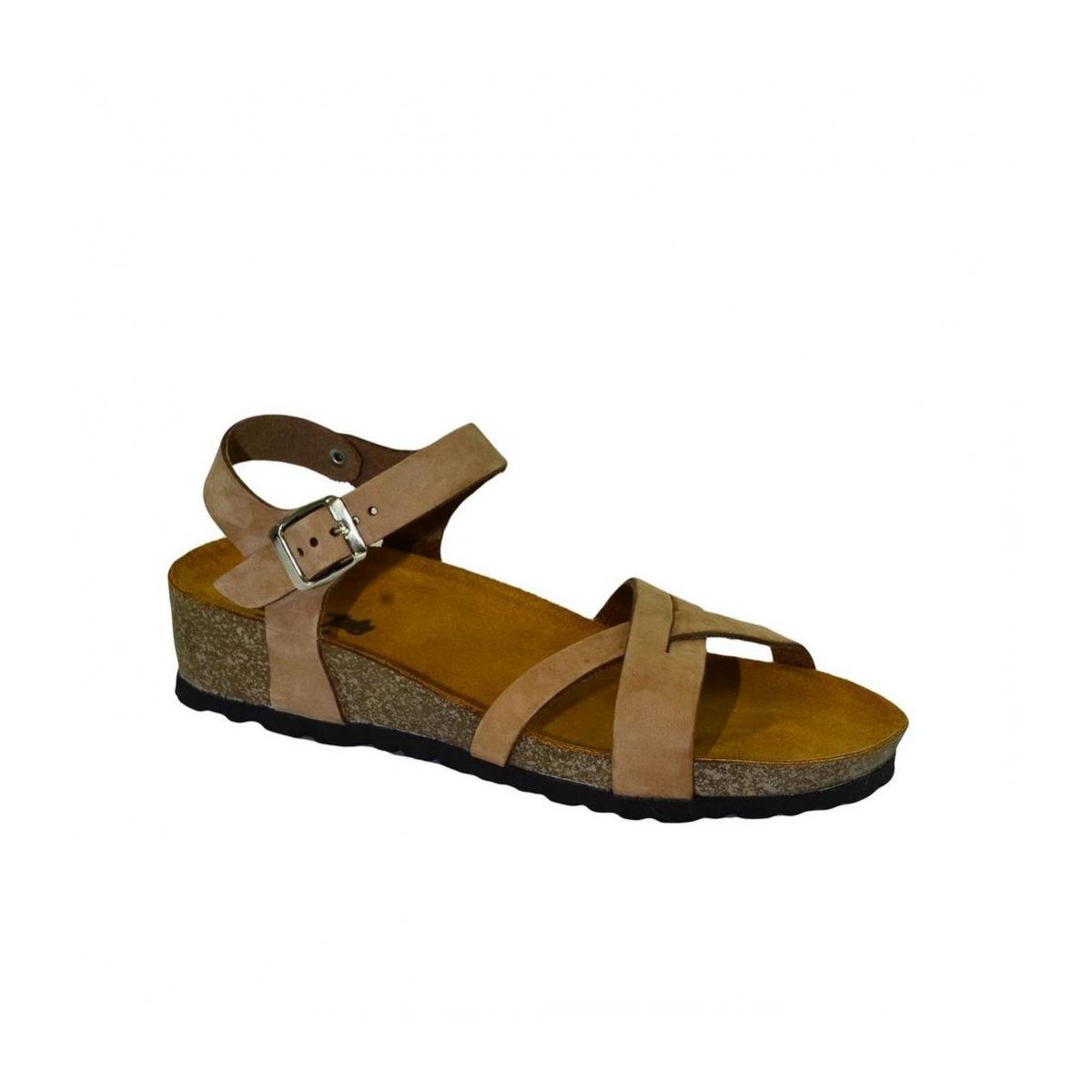 e92b3a278d Dámske hnedé sandále CAPI - 2