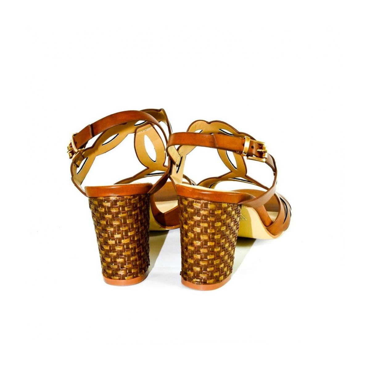 61e049b5bde9a Dámske hnedé sandále THERA - 5