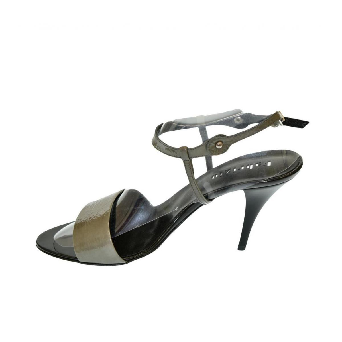 f4ecb3d924f6 Dámske sivé sandále THALIA - 3