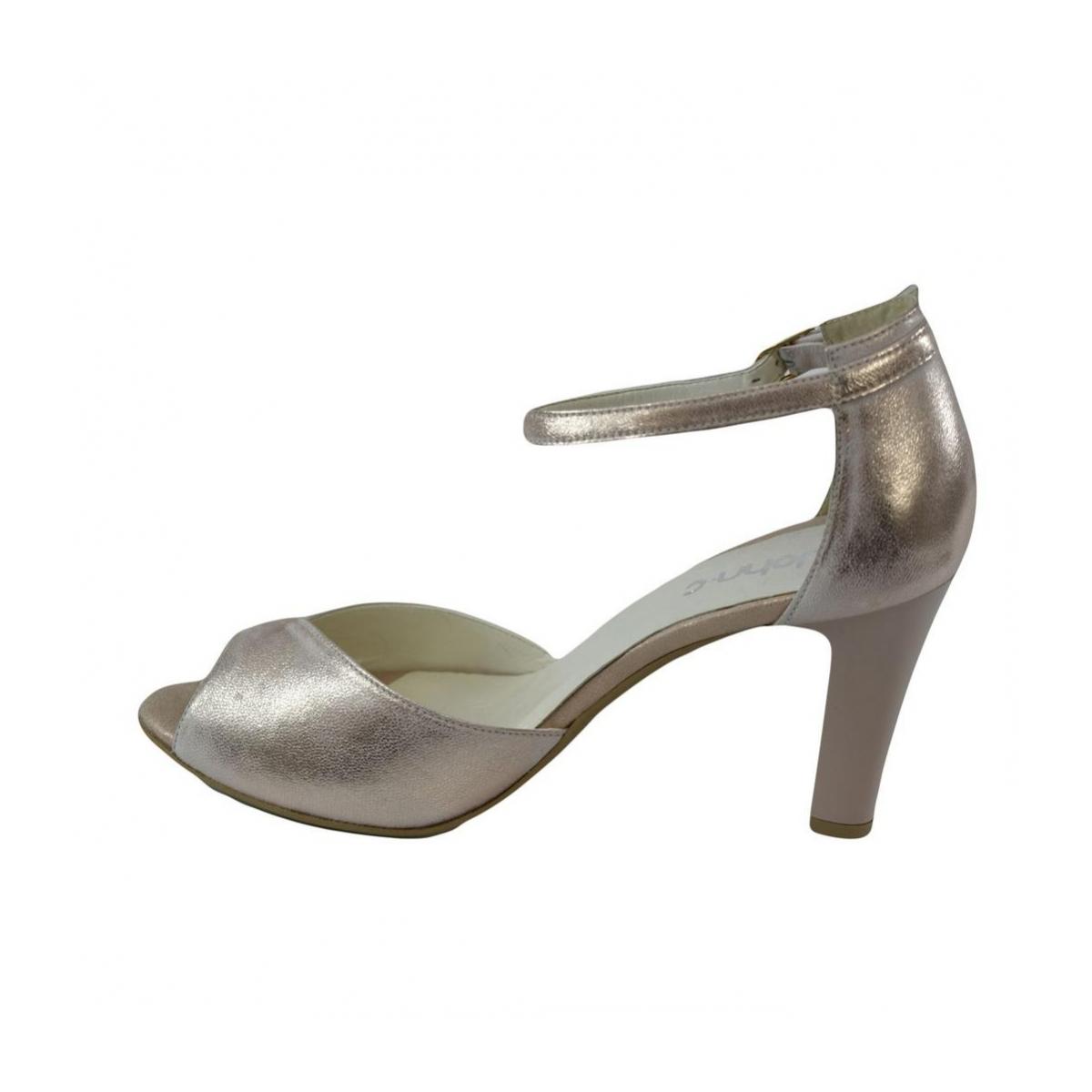 2a4f70933b6d Dámske kožené ružové sandále MADAS - 5