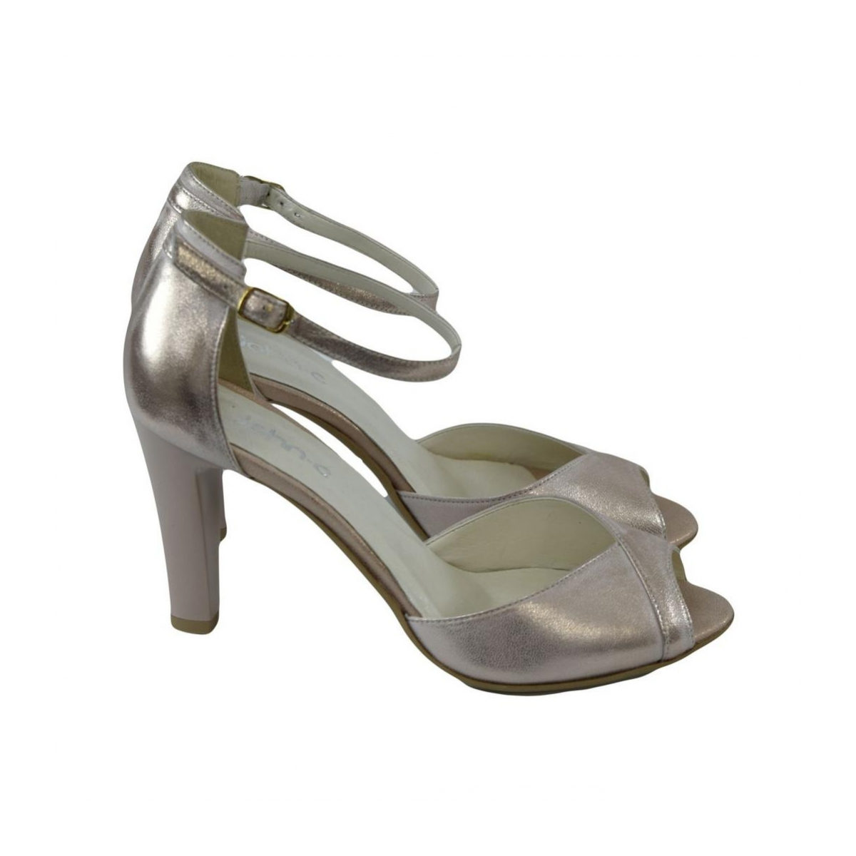 cfae6214504f Dámske kožené ružové sandále MADAS - 2
