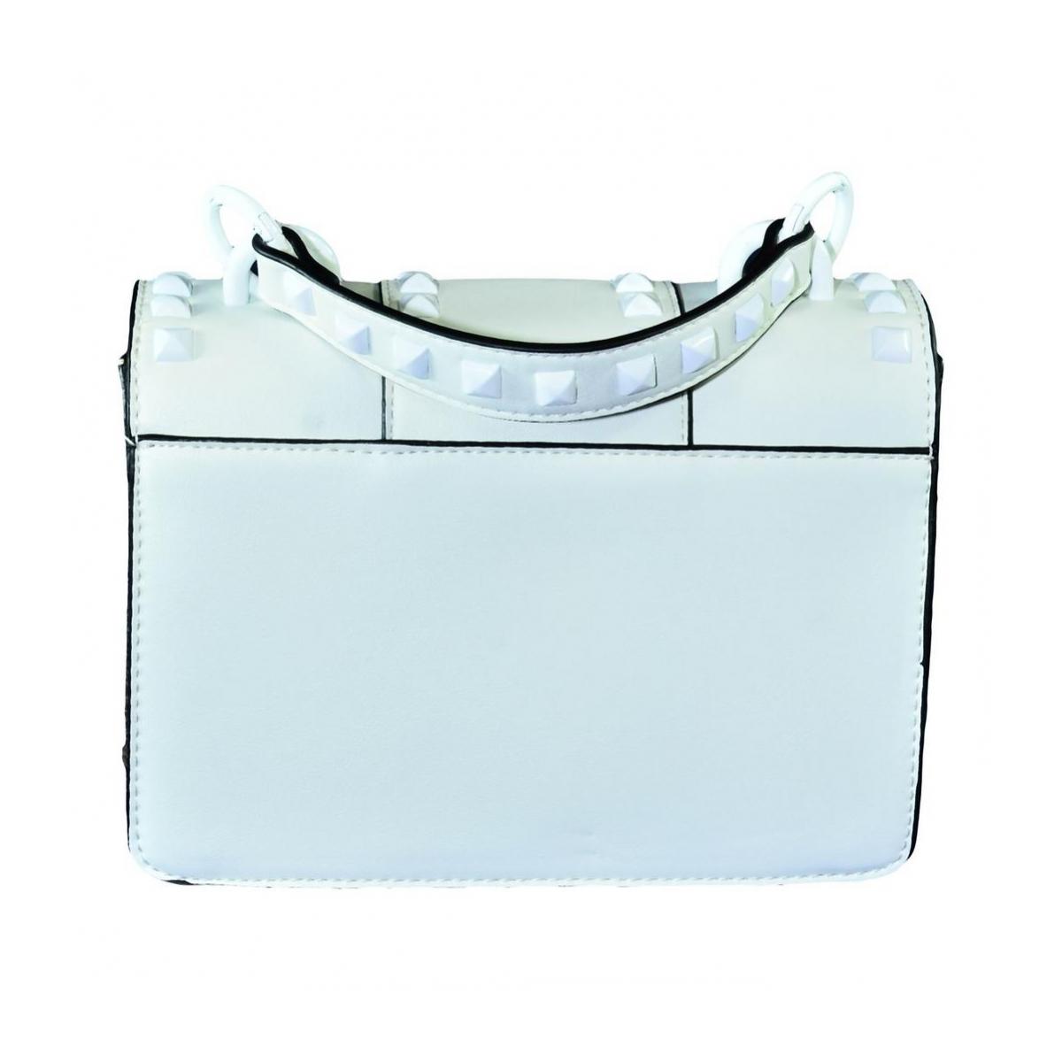8ca1165d282f7 Dámska biela kabelka RECHO - 4