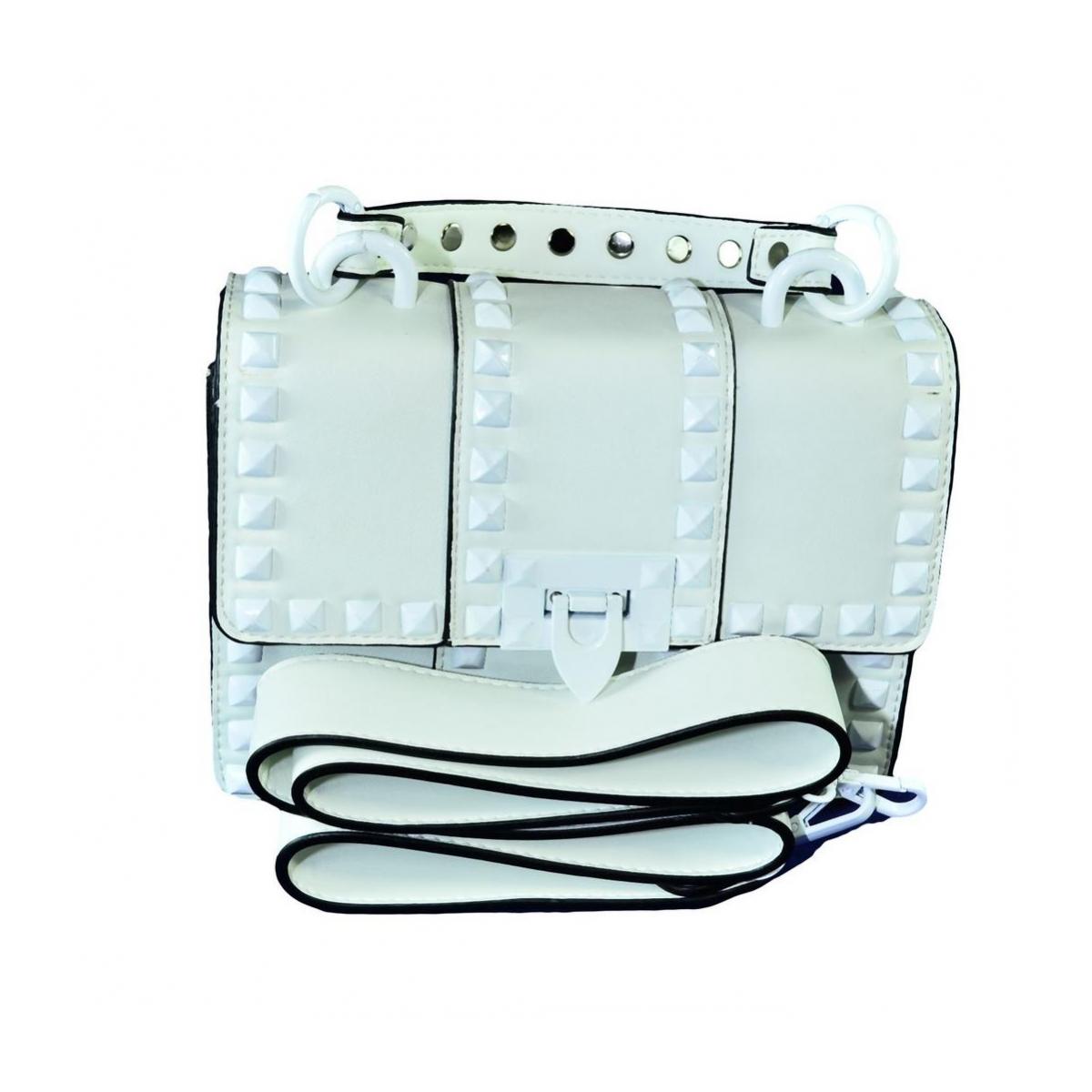 edc81417350ea Dámska biela kabelka RECHO - 2