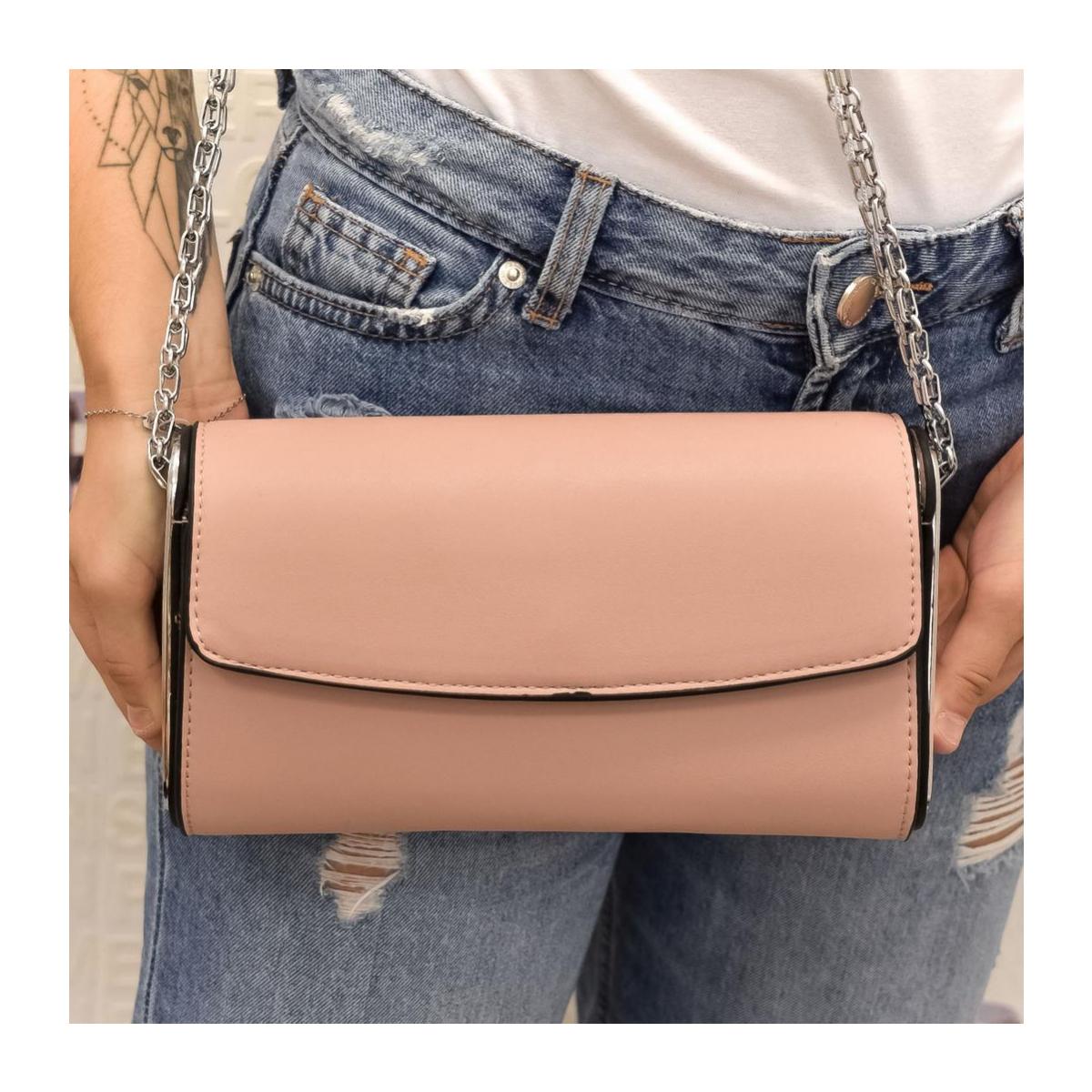 42bb104663 Dámska ružová kabelka AVORA - 2