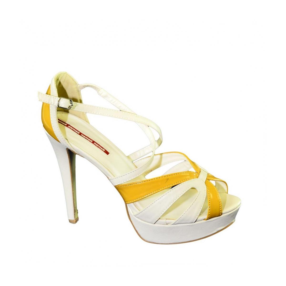 Dámske béžové sandále INISIA - 5 4feefadc11f