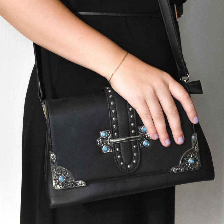 Dámska čierna kabelka TIONA
