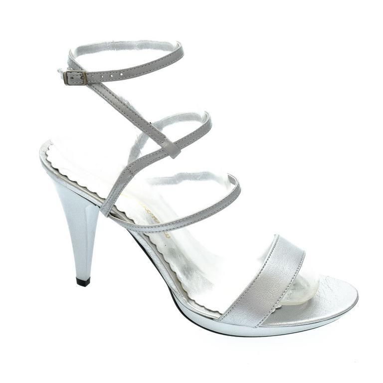 Dámske strieborné sandále LIANS