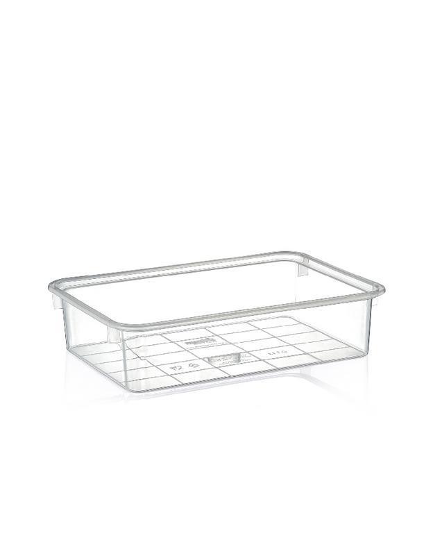 0,9L Transparentný plastový box