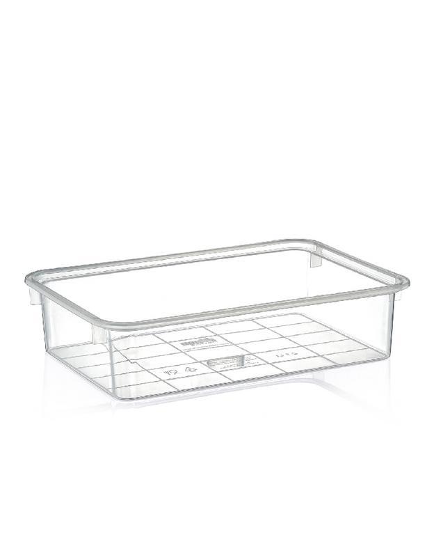 2,1L Transparentný plastový box