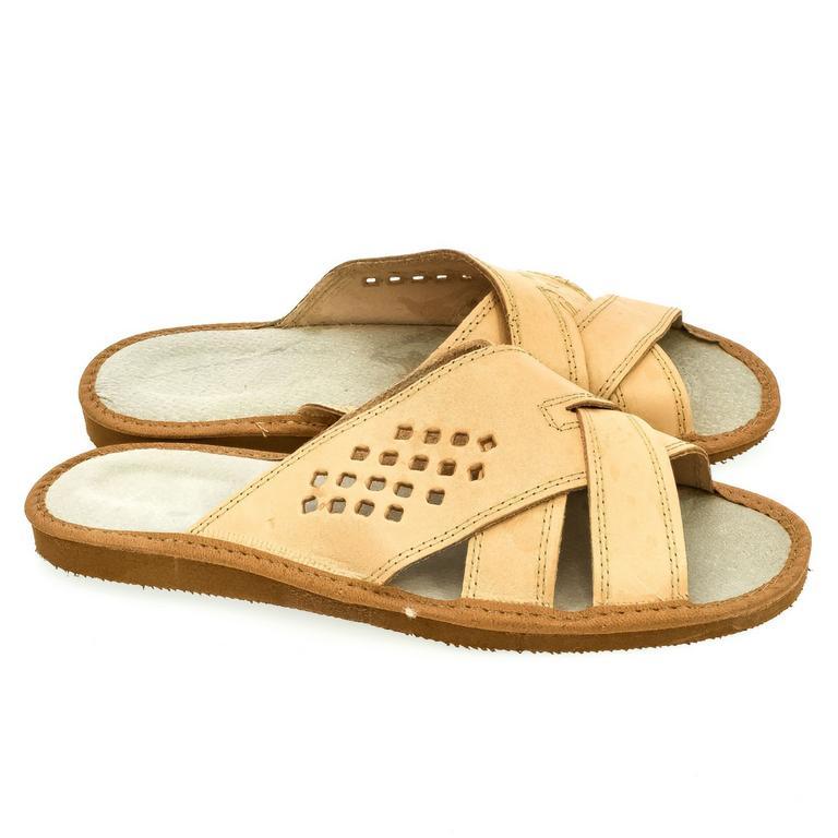 Pánske hnedé papuče OLAF