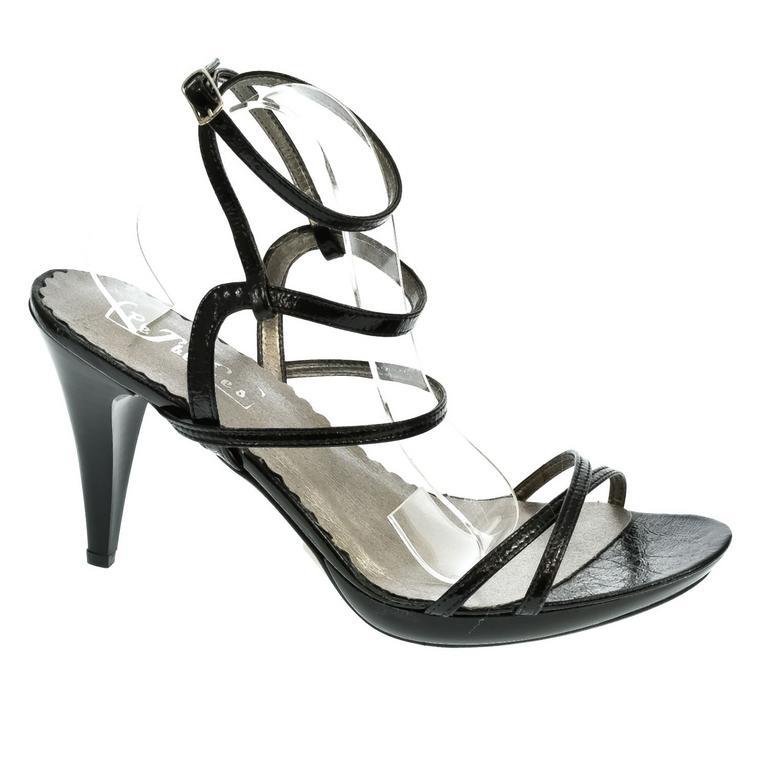 Dámske čierne sandále LUXY