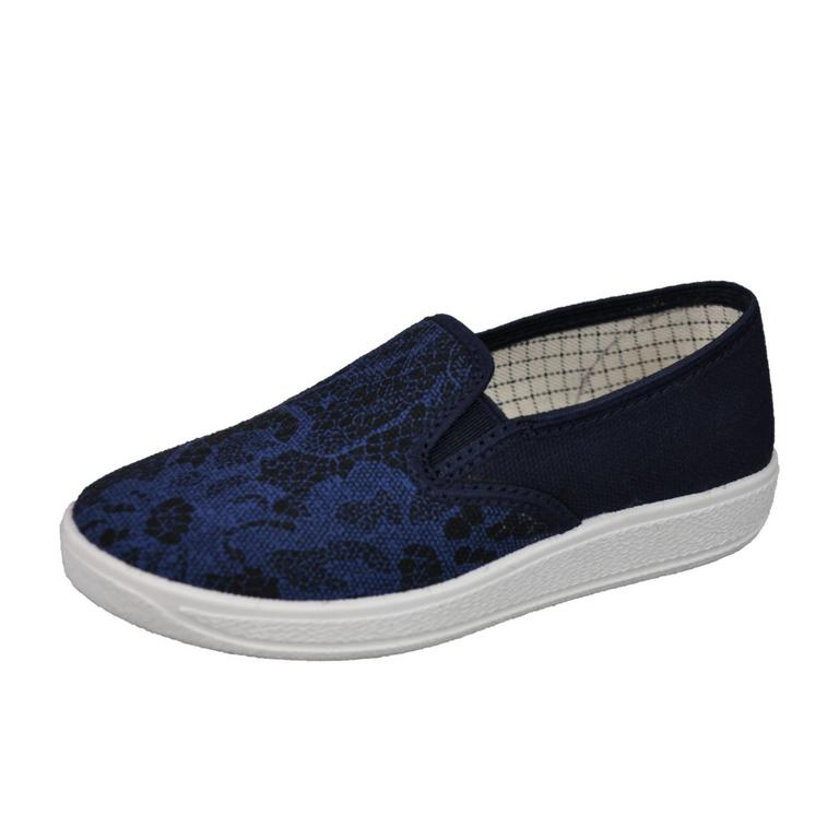 Detské modré topánky FLOWIE