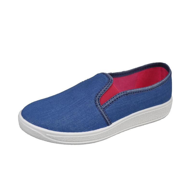 Detské modré topánky ANDREA