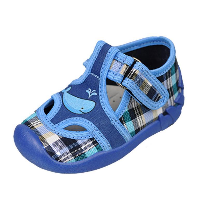Detské modré topánky KIKO