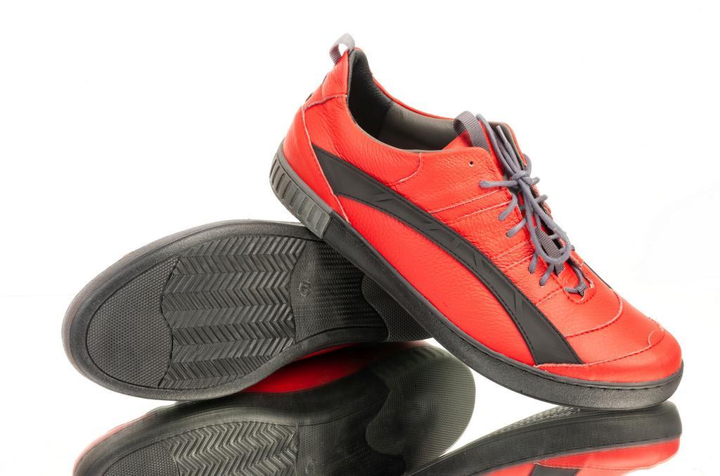 Pánske červené topánky ELIAS