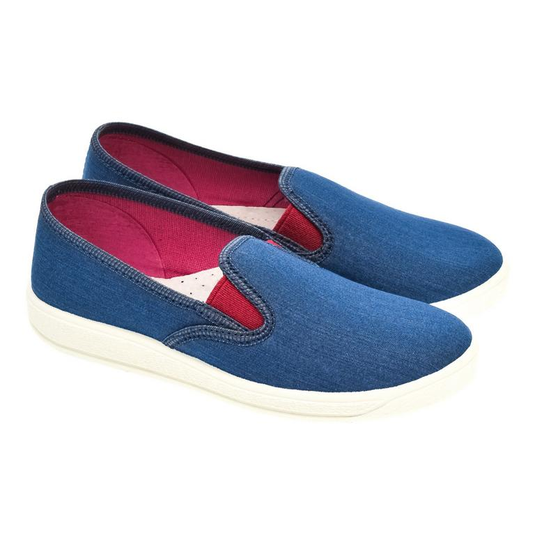 Detské modré topánky RIO
