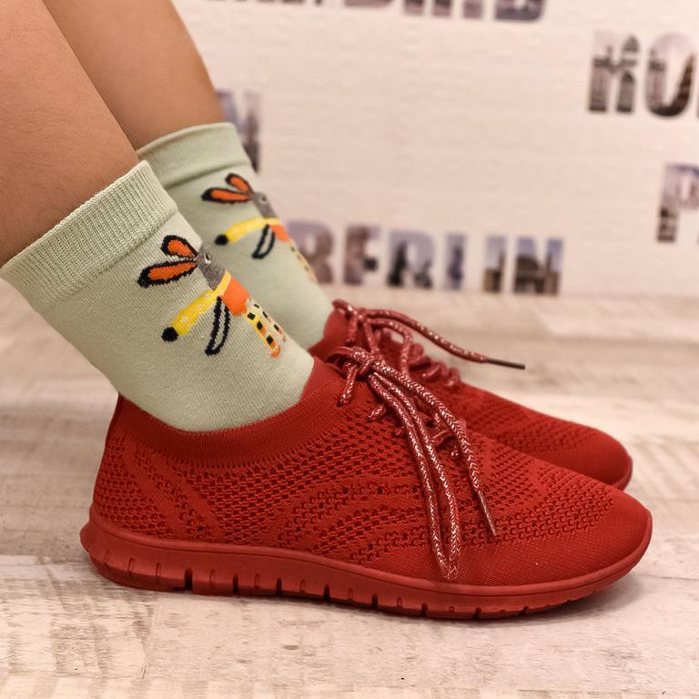 Detské červené tenisky UPPE