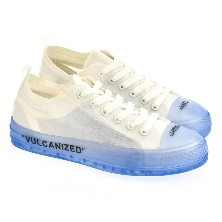 Dámske bielo-modré tenisky TIKA