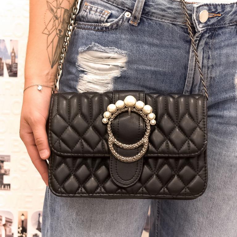 Dámska čierna kabelka EINNA