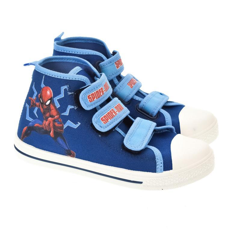 Detské modré topánky SPIDERMAN