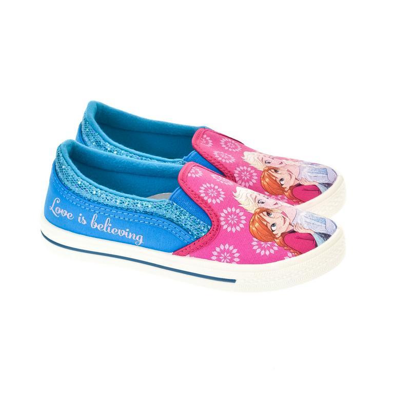 Detské modré topánky FROZEN