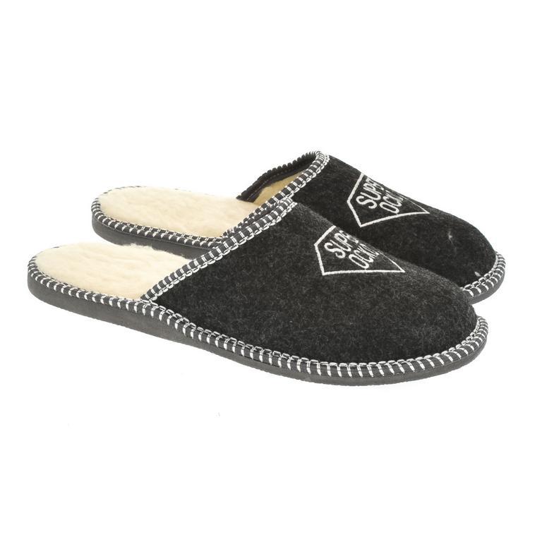 Pánske čierne papuče OCKO