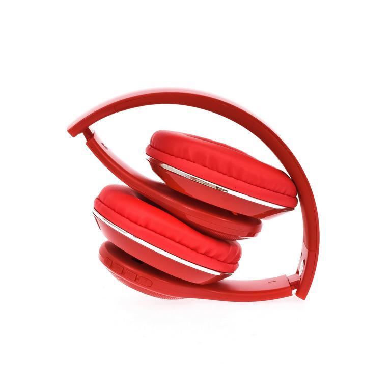 Červené slúchadlá WIRELESS