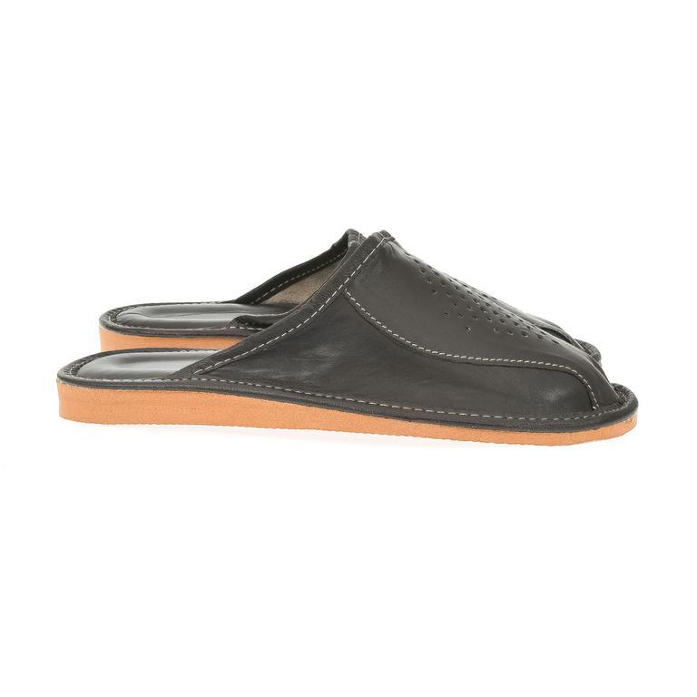 Pánske čierne papuče ILO