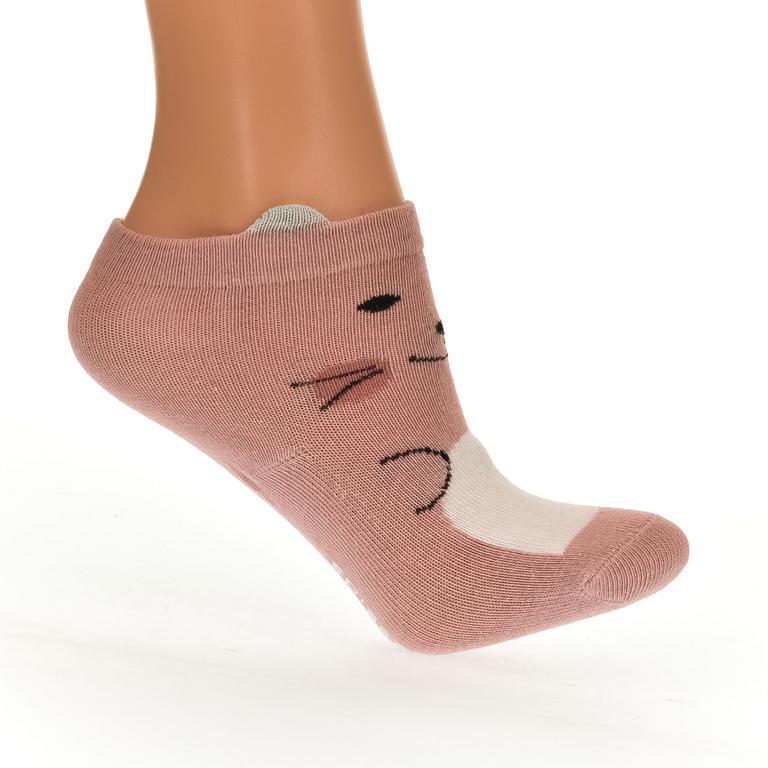 Detské ružové ponožky BEAR