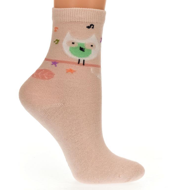 Detské oranžové ponožky KITT