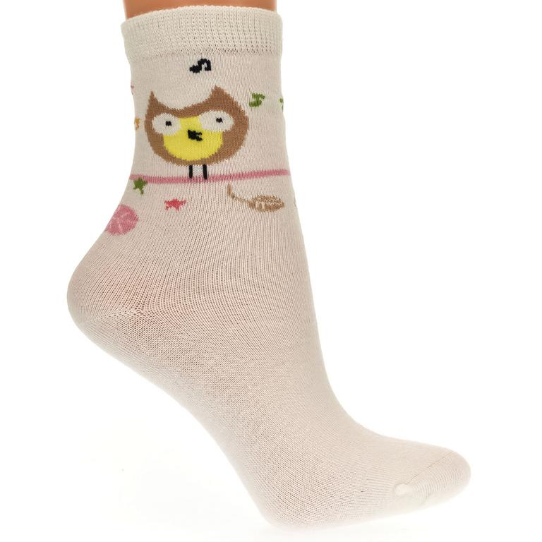 Detské béžové ponožky KITT