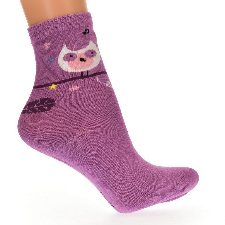 Detské fialové ponožky KITT