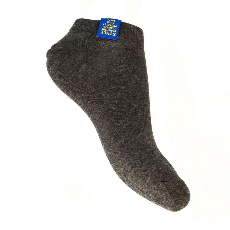 Tmavo-sivé ponožky STYL