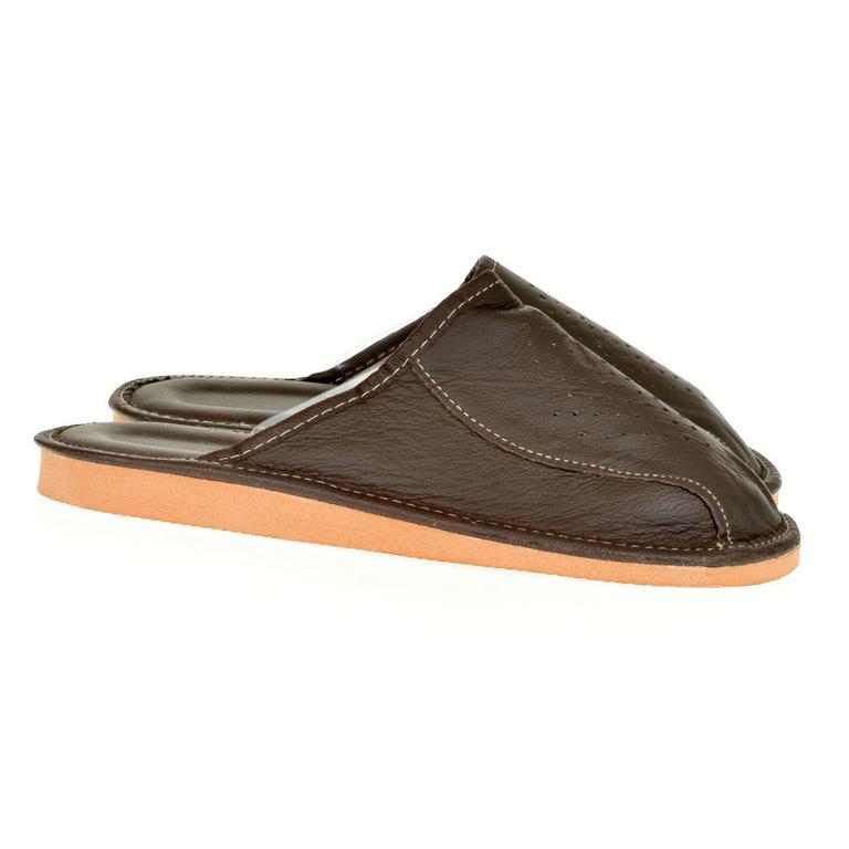Pánske kožené papuče DUŠAN