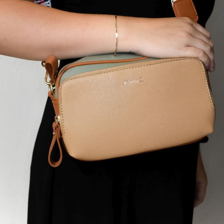 Dámska béžová kabelka MISS ELLI