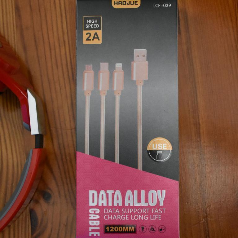 USB Nabíjací kábel na mobil 1,20m ALLOY