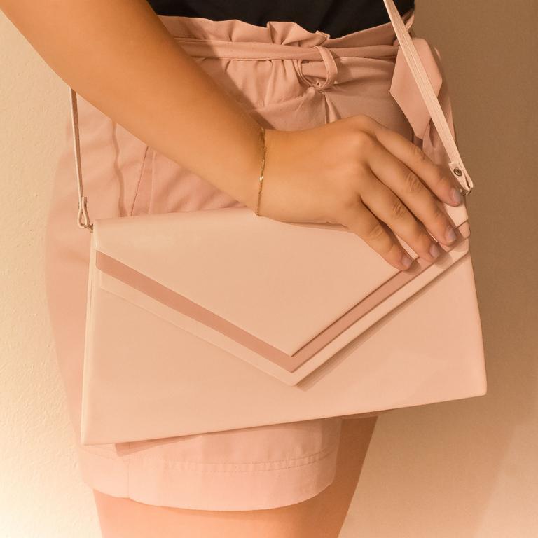 Dámska ružová kabelka POSSIE
