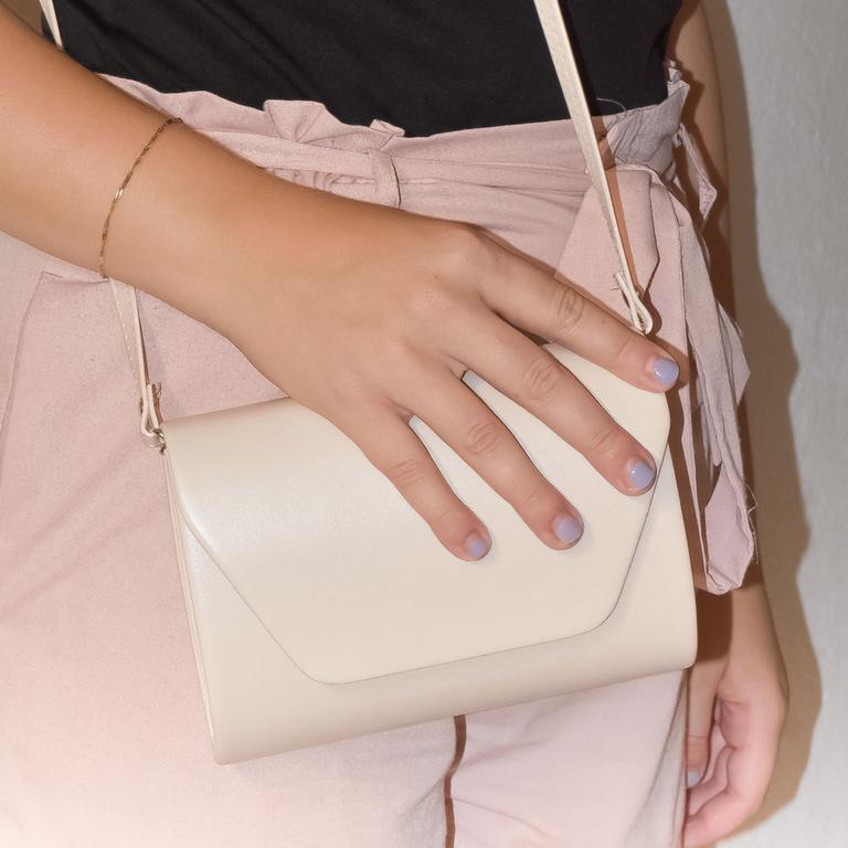 Dámska béžová kabelka LARA