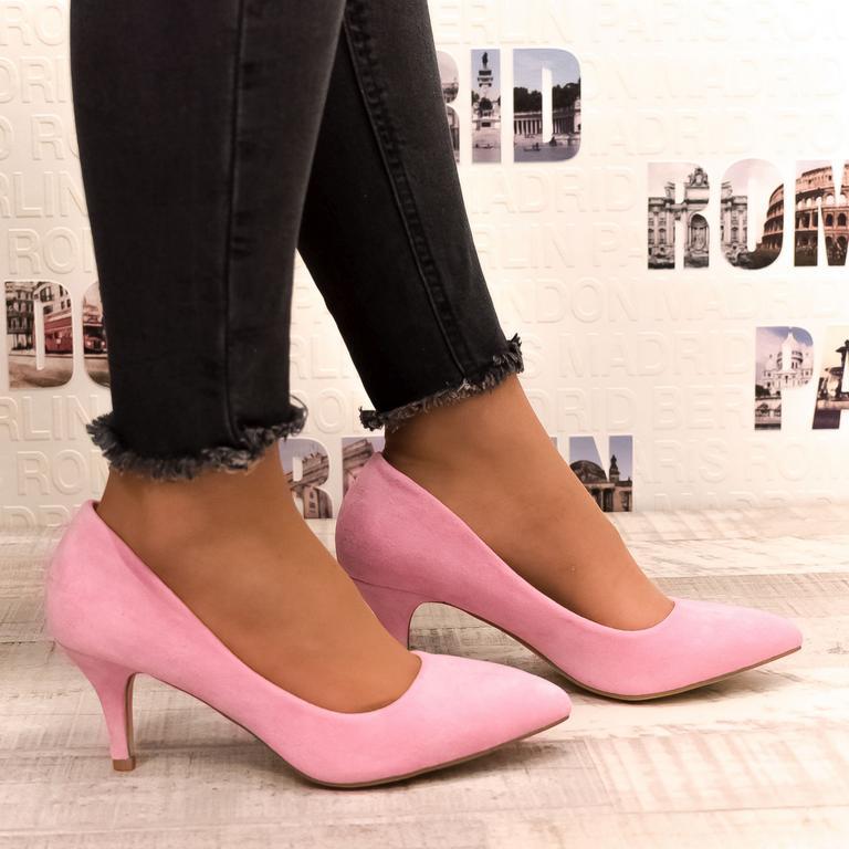 Dámske ružové lodičky CECILLA