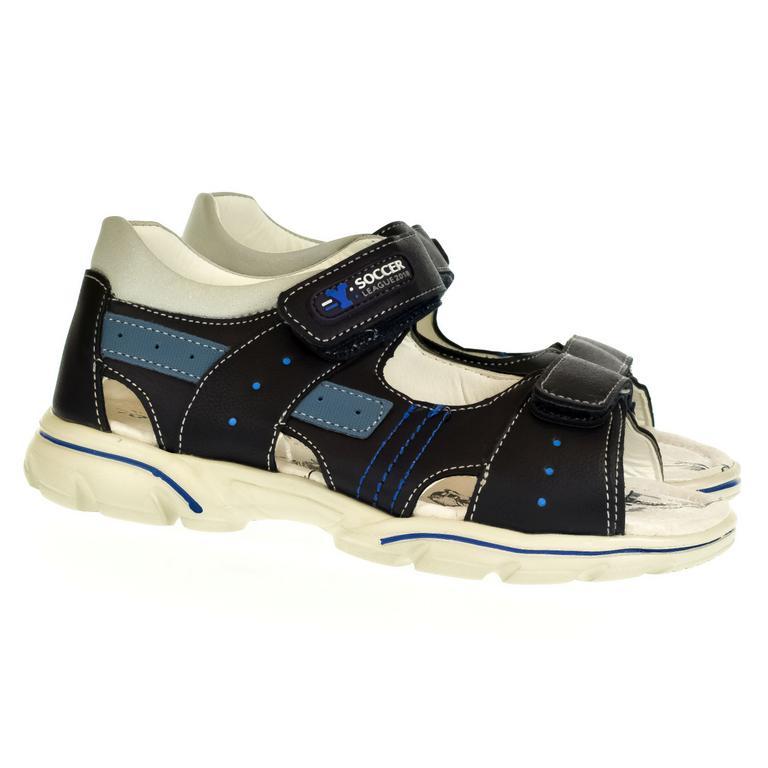 Detské modré sandále BESSKY BRENTLEY