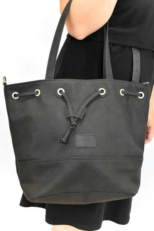 Dámska čierna kabelka NULF