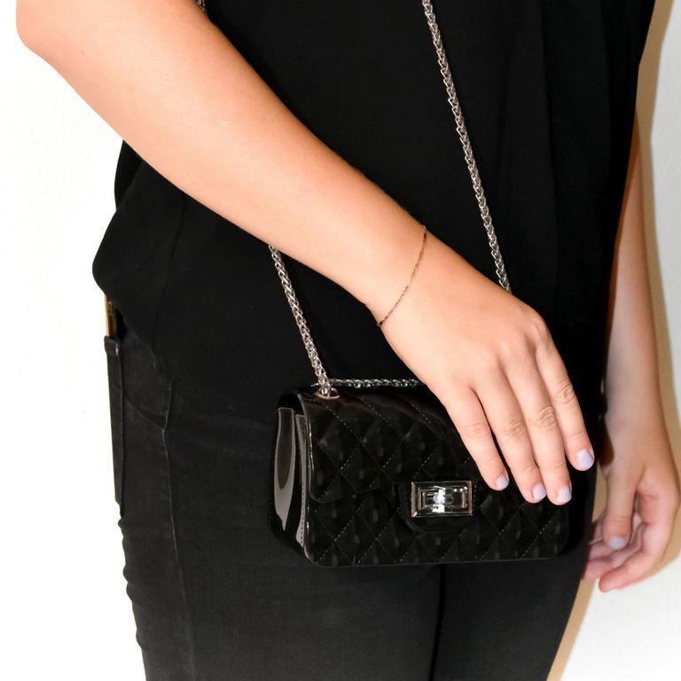 Dámska čierna kabelka PREFE