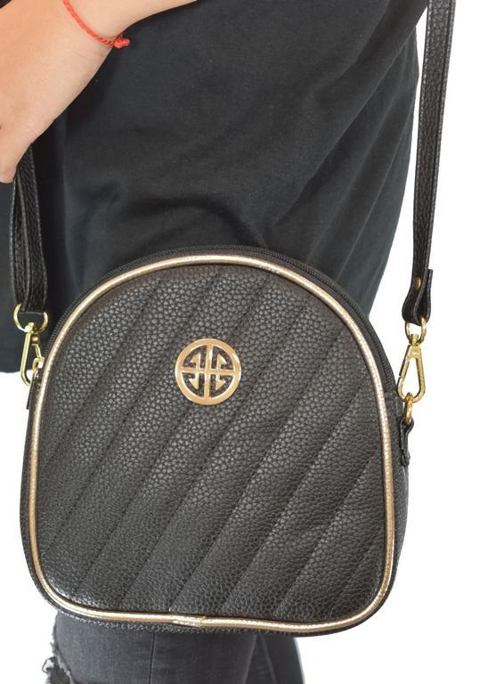 Dámska čierna kabelka AGATA MILIR