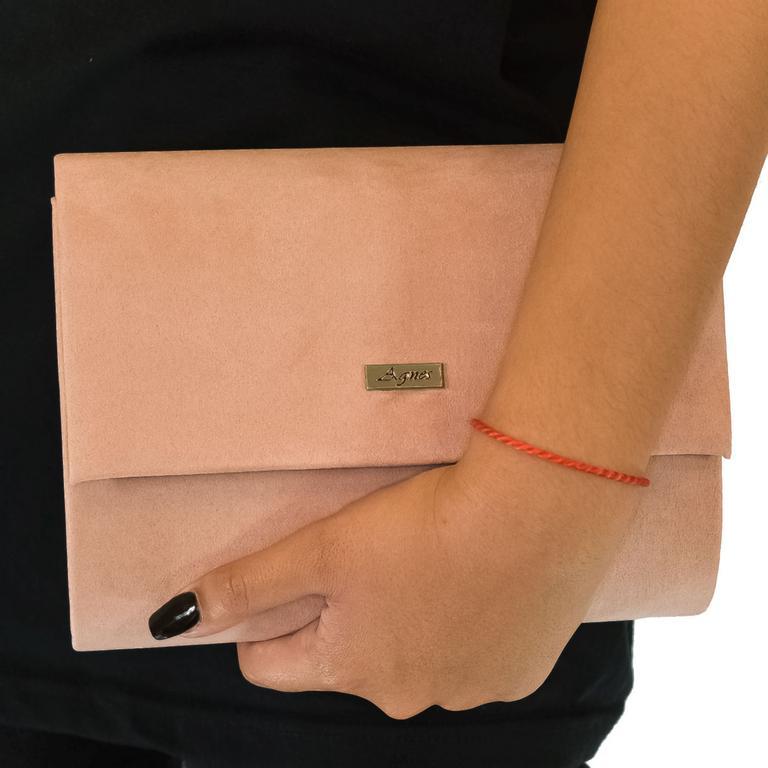 Dámska ružová kabelka AGNES AVAIL