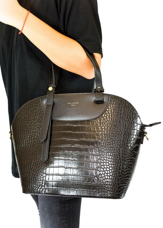 Dámska čierna kabelka GALLANTRY PARIS MAURICE