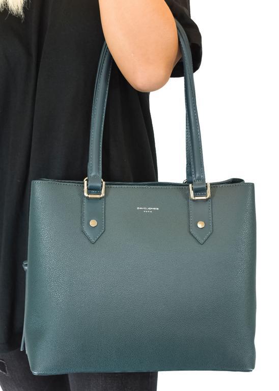 Dámska zelená kabelka DAVID JONES CARDI