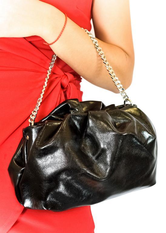 Dámska čierna kabelka BESTINI PROME